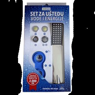 Set za uštedu vode i energije