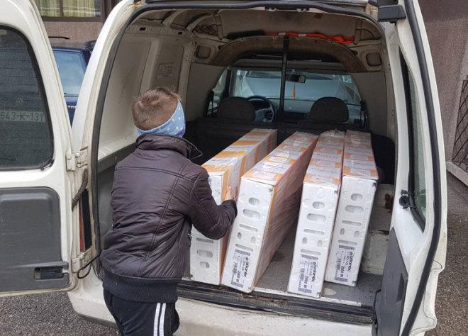 Donacija štićenicima Dom porodica u Zenici